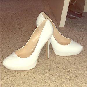 NEW White High Heels